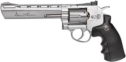 ASG Dan Wesson CO2 Powered Pellet Air-Revolver, Silver, 6