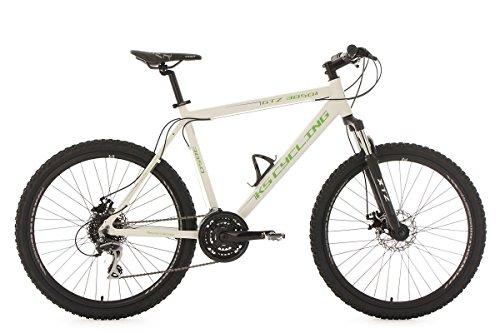 KS Cycling 354M VTT Semi-Rigide MTB Mixte Adulte, Blanc, 26'