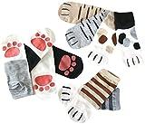 靴下 レディース くるぶし丈 ネコ好きさんにはたまらない 肉球もとってもキュート ねこのてソックス 10足セット スニーカー アンクル ソックス