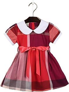 女の子スカート 子どもドレス ワンピース ベビードレス フォーマル ドレス 格子スカート 女の子 綿服 夏