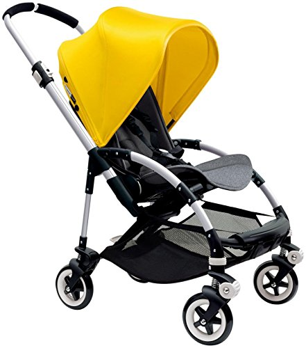Great Deal! Bugaboo Bee3 Stroller - Bright Yellow - Grey Melange - Aluminum