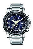 Citizen Herren Chronograph Quarz Uhr mit Edelstahl Armband AT8124-91L
