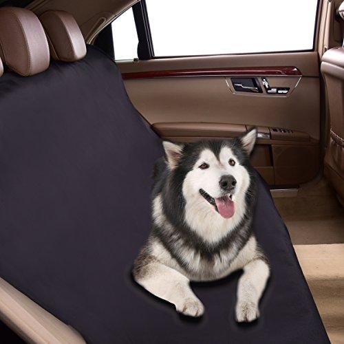 CAR PASS Waterdichte Auto Bank Stoelhoezen Voor honden, huisdieren, klassieke zwarte universele pasvorm voor vrachtwagens, sedans, Suvs, Vans
