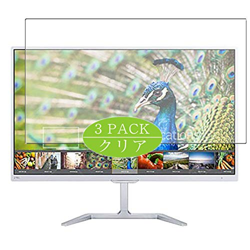 VacFun 3 Piezas HD Claro Protector de Pantalla para Philips 276E7Q / 276E7QDSW/00 / 276E7QDAB 27' Display Monitor, Screen...
