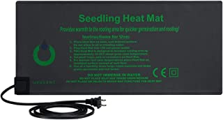 OPULENT SYSTEMS Durable Waterproof IP67 Seedling Heat Mat Seed Starting Plant Hydroponic Heating Pad for Indoor Seedling and Germination 10