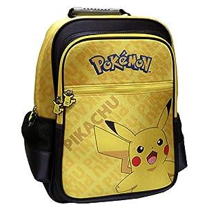 51LG2WDbiSL. SS300  - Mochila Adaptable a Trolley Pokémon Pikachu 41X20X35 Cm