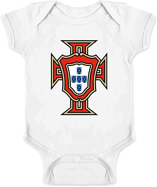 Canada Soccer Retro National Team Crest Infant Baby Boy Girl Bodysuit
