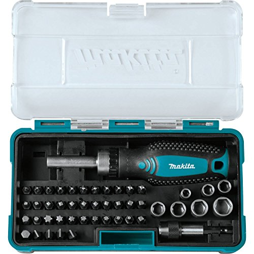 Makita B-50289 Ratchet and Bit Set (47 Piece)