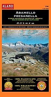 Adamello. Presanella. Parco Naturale Adamello Brenta. Itinerari sci alpinismo-skitouren 1:25.000. Ediz. italiana, inglese e tedesca