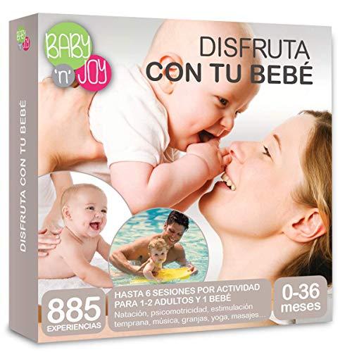 NJOY Experiences - Caja Regalo - DISFRUTA CON TU BEBÉ - Más De 885 Experiencias A Escoger Para Hacer Con Tu Bebé