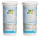 Frog Pool & Hot Tub Test Strips - 100 Count (pack of 2 - 50 strips)