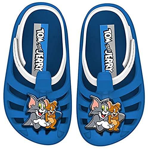 Ipanema Tom E Jerry Baby Sandalen, Blau/Weiß, 28 EU