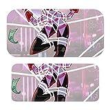 An-Gel Polvo Ha-Zbin Skins para controlador de interruptor, cuerpo entero, adhesivo de PVC para controlador de interruptor, exquisita textura mate, restaurar el toque de metal desnudo