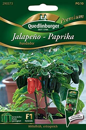 Paprika 'Jalapeno Fundador' Gemüsesamen Quedlinburger