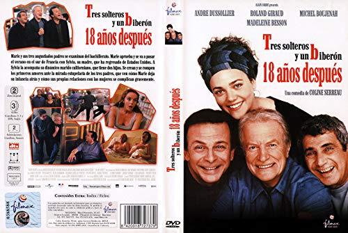 TRES SOLTEROS Y UN BIBERON 18 AÑOS DESPUES DVD