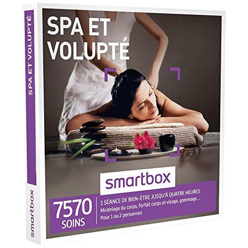 SMARTBOX - Coffret Cadeau - SPA ET VOLUPTÉ - 7570 soins : modelage du corps, forfait corps et visage
