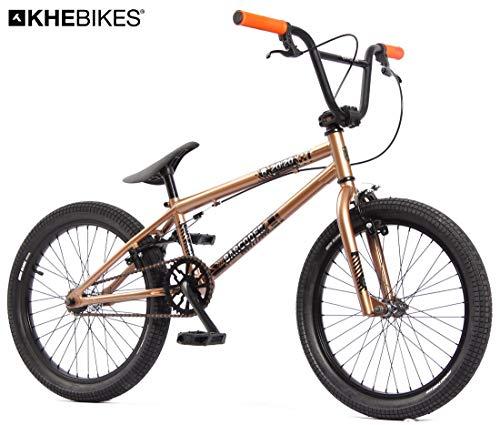 KHE BMX Fahrrad Barcode FS 20 Zoll Copper Kupfer braun nur 11,3kg!