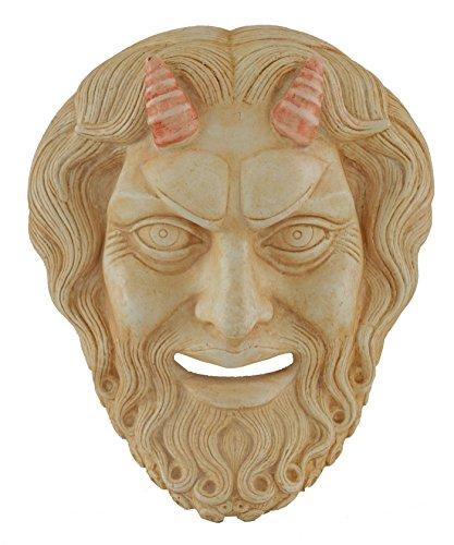 Pan máscara–Dionysos dios de Wild–antigua Grecia–Panas