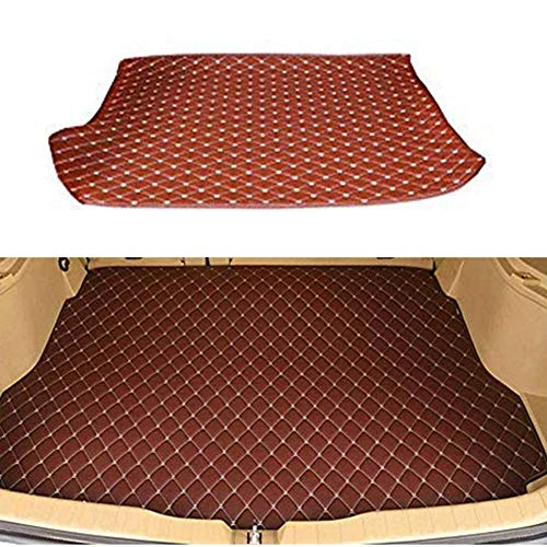 BNHHB Car Boot Mats Liner Tray for Mercedes Ben z SLK Class 2010-2016, Leather Auto Boot Mat Dust-proof Anti-scratch Mat Tailored Cargo Storage Protector Pad Rear Trunk Foldable Carpets