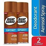 Right Guard Sport Deodorant Aerosol Spray, Original, 8.5 Ounce (Pack of 2) deodorant spray for men Mar, 2021