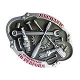 Modèle D'outil de Mécanique En Alliage Boucle de Ceinture Cadeau de Cow-boy Accessoire Occidental pour Hommes