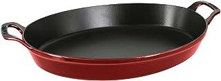 STAUB 13003787 Oval Baking Dish, Grenadine