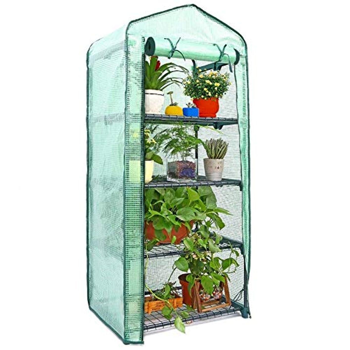 深く魅力ダメージTamkyo アウトドア、ガーデン、温室用植物カバー、日焼け止め、日よけ布、メッシュ層、Pe、家庭用テントとミニ園芸植物温室のカバー、フロア用