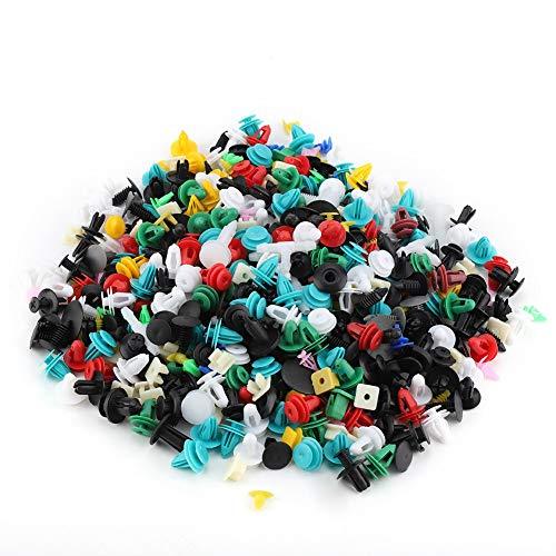 Clip per paraurti 500 pezzi, rivetti in plastica, convenienti per ricambi auto per ricambi auto