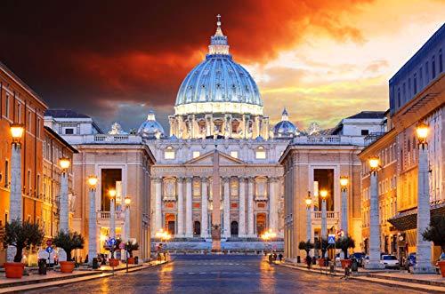 Puzzle Rompecabezas De 1000 Piezas Roma, Ciudad del Vaticano para Niños Adultos