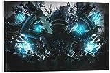Lienzos De Fotos 30x50cm Sin Marco Póster de Anime Sword Art en línea Arte de Pared impresión de Imagen Moderna decoración de Dormitorio Familiar Carteles
