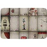 YAGEAD geometrisches einfaches Haustierbett, einfarbiges Stern-orientalisches nahöstliches Muster und Zickzack-Zickzack-Linien dekorativ