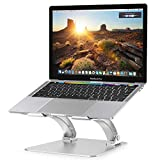 Nulaxy Laptop Stand, Ergonomic Height Angle Adjustable Computer...