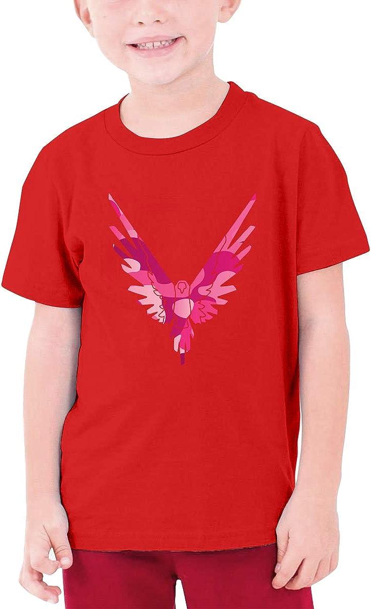 Logan Paul Maverick Pink Teenagers Cotton Short Sleeve Shirts