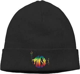 MUtang Phish - Rainbow Logo Skull Hats Knitted Cap Beanie Black