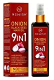 Newish® Onion Hair Oil for Hair Growth, Anti Dandruff & Hair fall Control 200ml