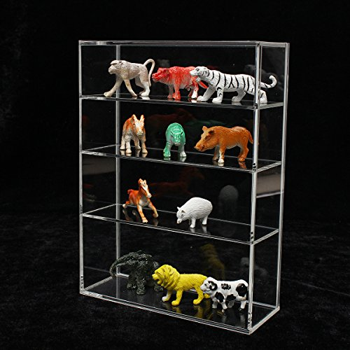 214x 159x 59mm équilibrée Acrylique Boîte de présentation Show Coque Porte coulissante pour mini bouteille de parfum