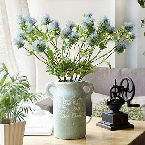 Artificial and Dried Credence Flower 10pcs 5% OFF Length Eryngiu 60cm