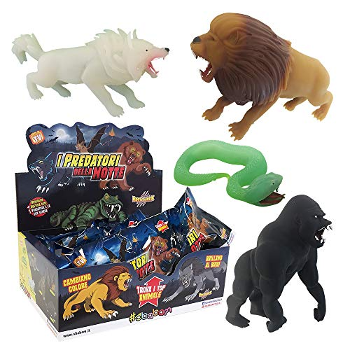Sbabam I Predatori della Notte - Lote de 3 bolsas serie Kreaturex , color/modelo surtido