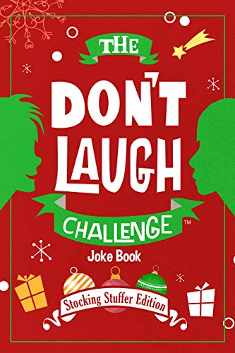 The Dont Laugh Challenge 8 and Tongue Twisters for Kids Ages 5 6 11 7 2nd Edition: Childrens Joke Book Including Riddles and 12 Year Old Boys and Girls; Stocking Stuffers 9 Gift I 10 Knock Knock Travel Games Christmas Gifts Funny Q/&A Jokes