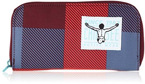 Chiemsee Unisex-Erwachsene Wallet Large Geldbörse Mehrfarbig (Checks Floral)