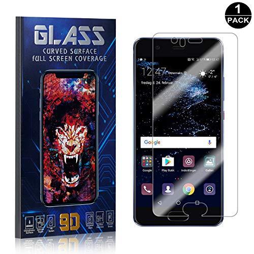 Bear Village® Displayschutzfolie für Huawei P10, HD Panzerglasfolie mit 3D Touch, 9H Härtegrad Schutzfilm aus Gehärtetem Glas für Huawei P10, 1 Stück