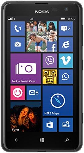 Nokia Lumia 625 Smartphone (4,7 Zoll (11,9 cm) Touch-Bildschirm, 8 GB Speicher, Windows 8) schwarz
