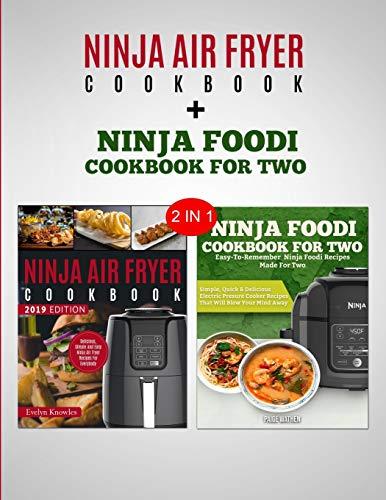 Price comparison product image Ninja Air Fryer Cookbook & Ninja Foodi Cookbook For Two: 2 in 1 Bundle - Become A Ninja Chef