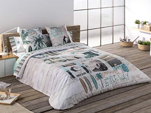 Texidos JVR Bettbezug, Surf, für Bett mit 105 cm Breite