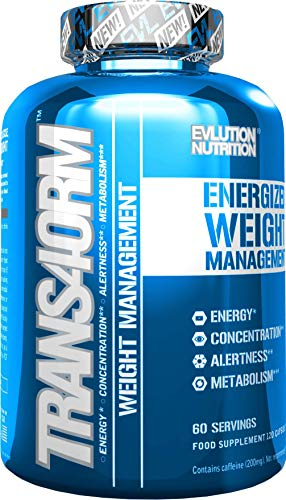 Evlution Nutrition Trans4orm Quemagrasa Termogénico | 120 Cápsulas