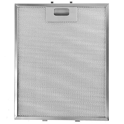 SPARES2GO Metal Mesh Filter passt für viele führende Marken der Dunstabzugshaube/Abzugshaube Vent (Non-Universal, Silber, 318 x 258 mm)