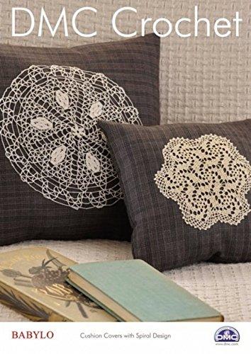 DMC Spirale Kissen Häkelmuster + Gratis Minerva Crafts Craft Guide
