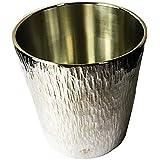 ロックグラス 250ml mokuストレート 伝統工芸品 薩摩錫器 錫 (スズ) ウイスキー グラス 酒器