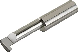 0.500 Minimum Bore Diameter 0.150 Projection 3 Overall Length 0.500 Shank Diameter 0.187//0.189 Groove Width Micro 100 FR-187-12 Full Radius Grooving Tool 0.750 Maximum Bore Depth Solid Carbide Tool