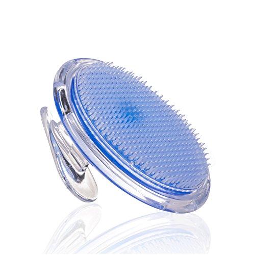 Peeling Bürste Gegen Eingewachsene Haare - Eingewachsenes Haar Exfoliator für Männer, Frauen - Exfoliator der Bikinizone - Körper-Bürste für Beine Achselhöhle eingewachsene Haarbehandlung von SanDine